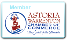 Member of the Astoria Warrenton Chamber of Commerce